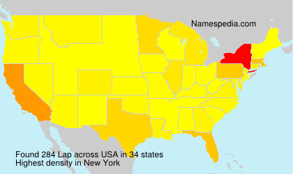 Surname Lap in USA