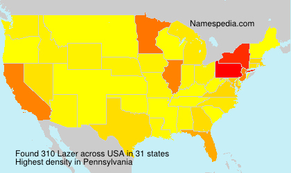 Surname Lazer in USA