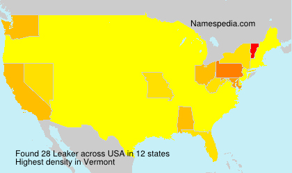 Surname Leaker in USA