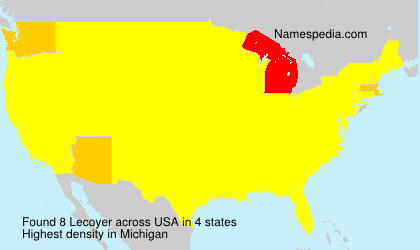 Surname Lecoyer in USA