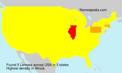 Surname Lemass in USA