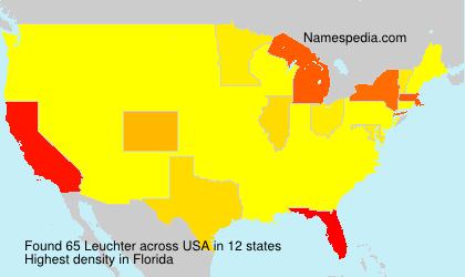 Surname Leuchter in USA