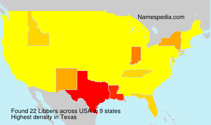 Surname Libbers in USA