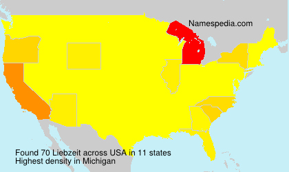 Surname Liebzeit in USA
