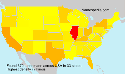 Surname Linnemann in USA