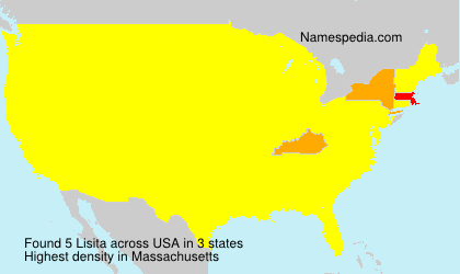 Surname Lisita in USA