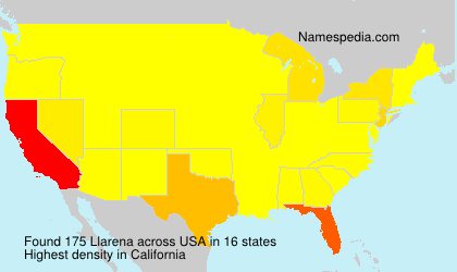 Surname Llarena in USA