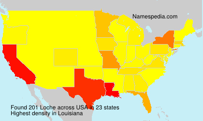 Surname Loche in USA