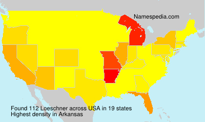 Surname Loeschner in USA