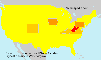 Surname Lokmer in USA