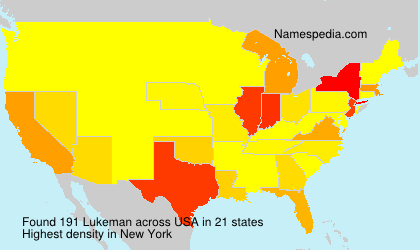 Surname Lukeman in USA