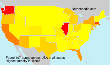 Surname Lungo in USA