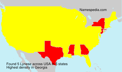 Surname Lynese in USA