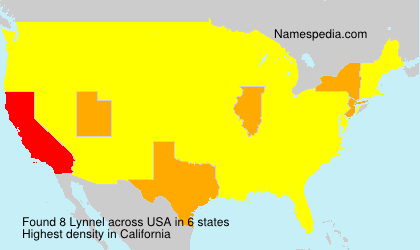 Surname Lynnel in USA