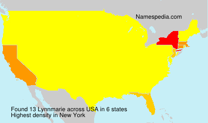 Surname Lynnmarie in USA