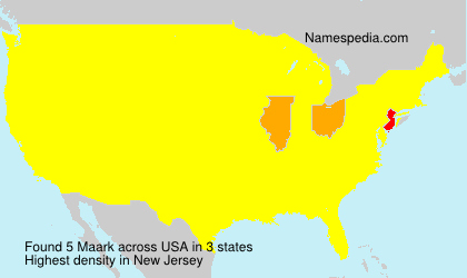 Surname Maark in USA