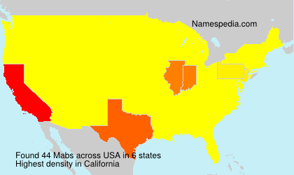 Surname Mabs in USA