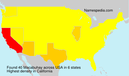 Surname Macabuhay in USA