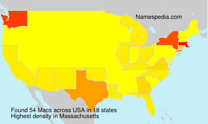 Surname Macs in USA