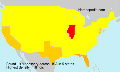 Surname Madassery in USA
