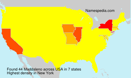 Surname Maddaleno in USA