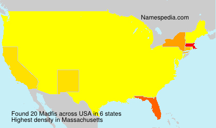 Surname Madfis in USA