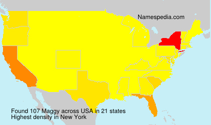 Surname Maggy in USA