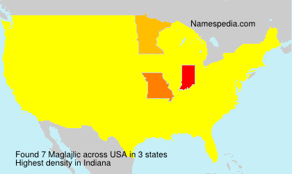 Surname Maglajlic in USA