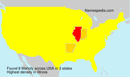 Surname Maholy in USA