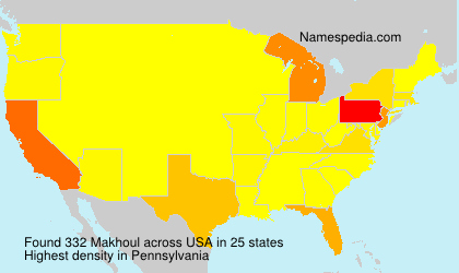 Surname Makhoul in USA
