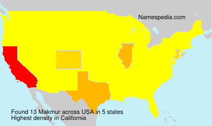 Surname Makmur in USA