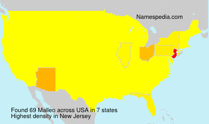Surname Malleo in USA