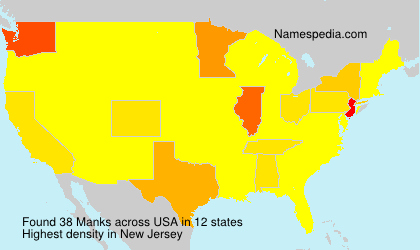 Surname Manks in USA