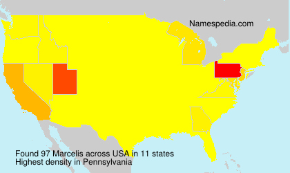 Surname Marcelis in USA