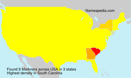 Surname Markners in USA