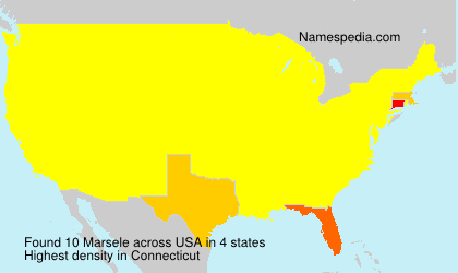 Surname Marsele in USA