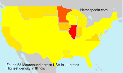 Surname Mausehund in USA