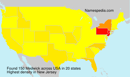 Surname Medwick in USA