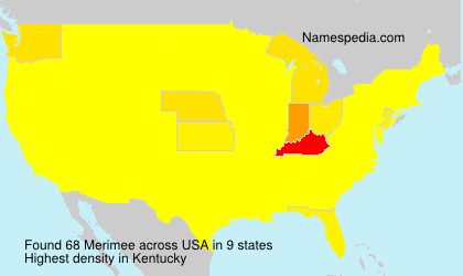 Surname Merimee in USA