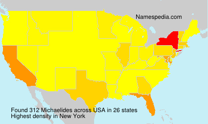 Surname Michaelides in USA