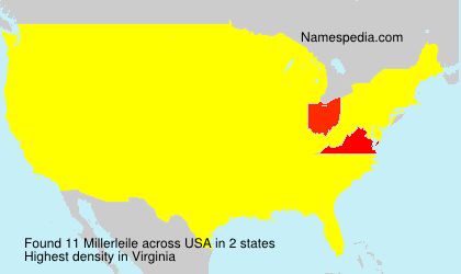 Surname Millerleile in USA