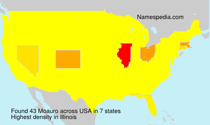 Surname Moauro in USA