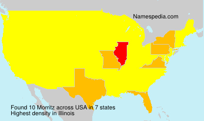 Surname Morritz in USA