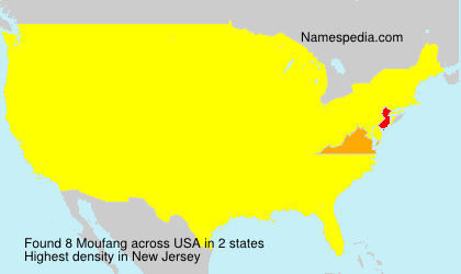 Surname Moufang in USA