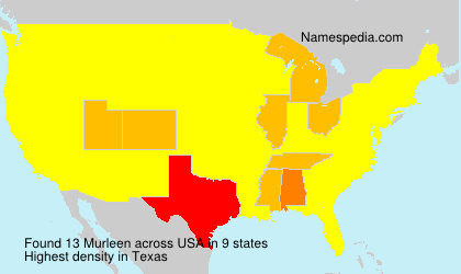 Surname Murleen in USA