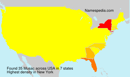 Surname Musac in USA