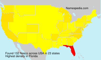 Surname Nasco in USA