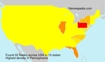Surname Nasko in USA