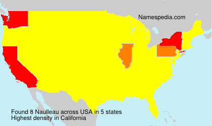 Surname Naulleau in USA