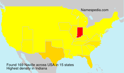 Surname Naville in USA
